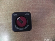 CITROËN 96413912XT C4 Picasso I (UD_) 2011 Key switch for deactivating airbag