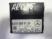 MERCEDES-BENZ A 211 820 91 26 / A2118209126 S-CLASS (W220) 2001 Control unit for anti-towing device and anti-theft device