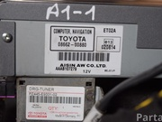TOYOTA 08660-00880 / 0866000880 AVENSIS Saloon (_T25_) 2006 Control unit for navigation system
