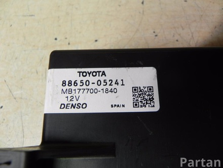 TOYOTA 88650-05241 / 8865005241 AVENSIS Estate (_T27_) 2010 Amplifier assy, air conditioner